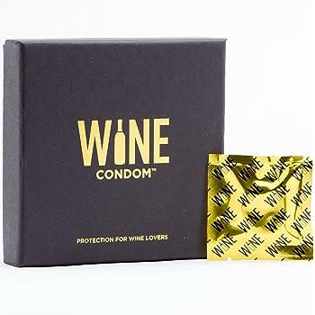 The Original Wine Condoms   Wine & Beverage Bottle Stopper   Air-Tight Grip   Prolong Beverage Freshness   FUNctional Novelty Gift   Food Grade 100% Rubber Latex   Tuxedo Black   Set of 6