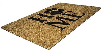 """Entryways Pet Home Non- Slip Coconut Fiber Doormat 17"""" X 28"""" X .5 """""""