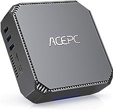 Mini PC, 8GB DDR3 120GB SSD Windows 10 Pro(64-bit) Mini Computer,Intel Celeron J3455 Processor(up to 2.3GHz) Dual Display ...