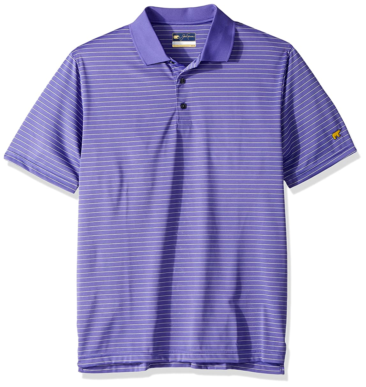 Jack Nicklaus Men's Short Sleeve 3 Color Stripe Polo