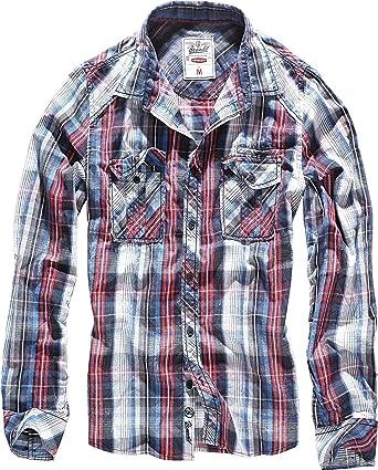 Brandit Central City Check - Camisa vintage