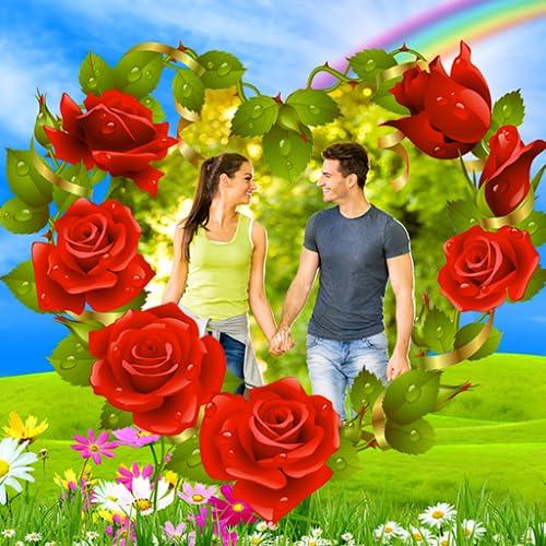 Blumen Bilderrahmen