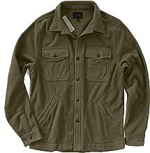 J.Crew Men's Long Sleeve Fleece Over-Shirt Jacket