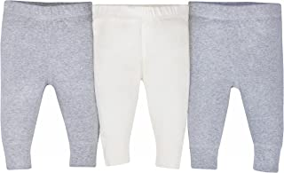 Gerber Baby-Boys Unisex-Baby 3-Pack Organic Pant Infant-and-Toddler-Bloomers - Gray