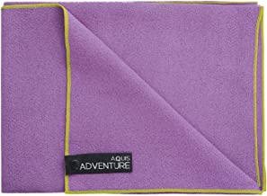 AQUIS - Adventure Microfiber Sports Towel, Quick-Drying Comfort Great for Gym, Travel or Camping