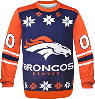 Denver Broncos Almost Right But Ugly Sweater Large