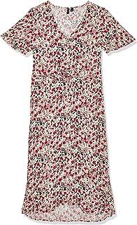 فستان بسيط بأكمام قصيرة للنساء من فيرو مودا