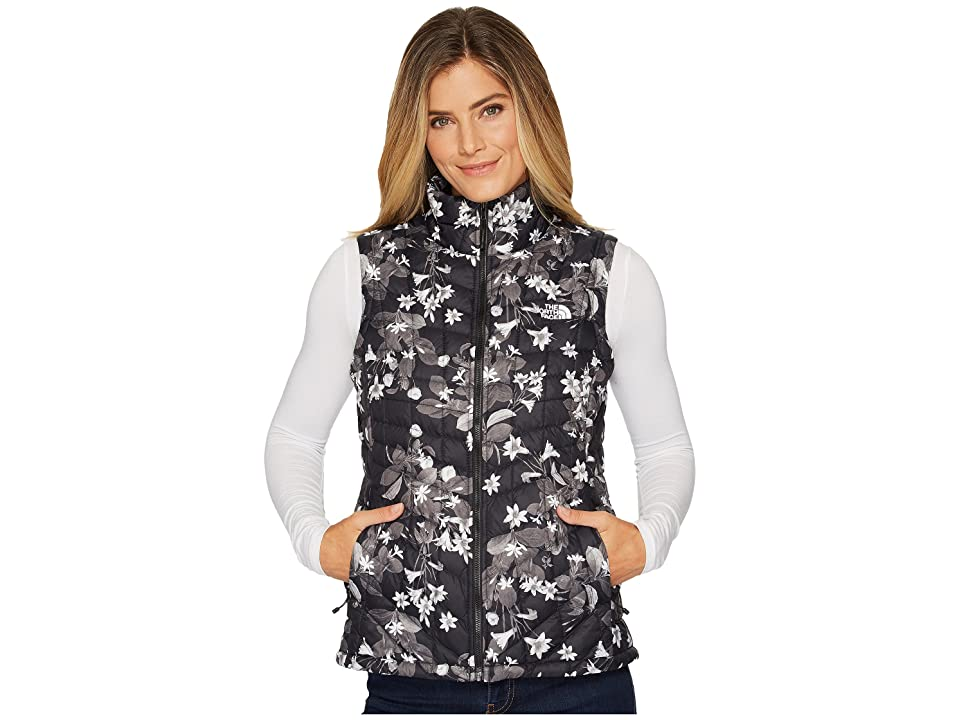 The North Face Thermoball Vest (TNF Black/Late Bloomer Print) Women
