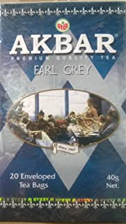 Akbar Premium Quality Classic Earl Grey Tea 20x2g Teabags