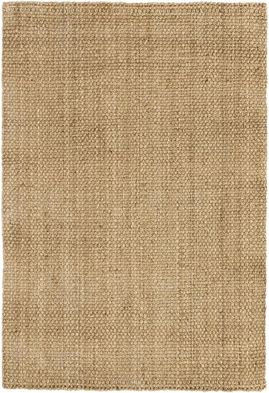 HAMID Jute Teppich Teppich Teppich - Panama Teppich 100% Naturfaser de Jute (Natur, 160x230cm) B07BZL261D 7d3421