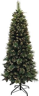 クリスマスツリー 北欧テイスト 北欧シャンパンスリムツリー 2018年度新作 (150cm)