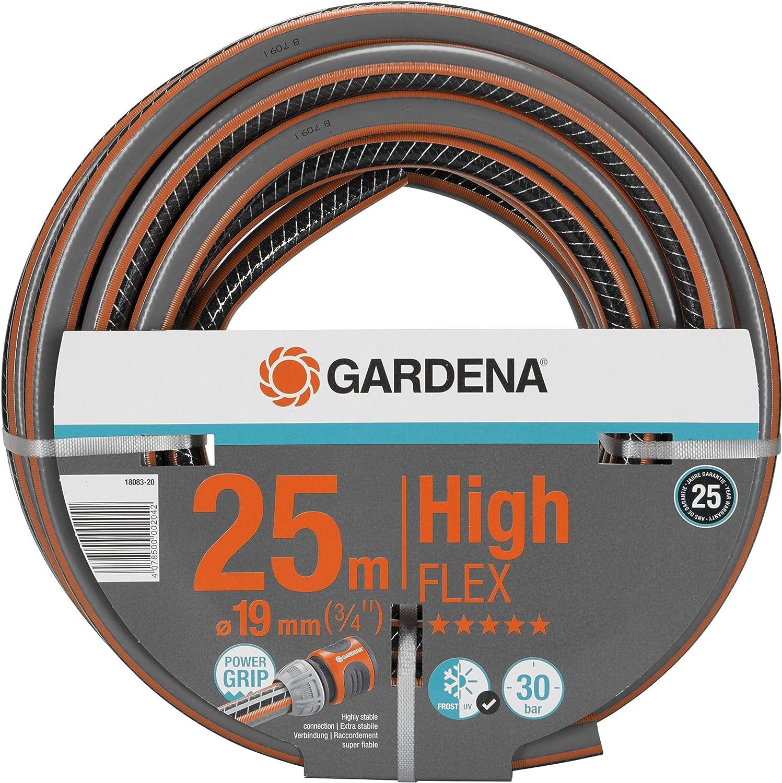 Gardena Comfort Highflex Schlauch 19 Mm 3 4 Zoll 25 M Gartenschlauch Mit Power Grip Profil 30 Bar Berstdruck Formstabil Uv Beständig 18083 20 Garten