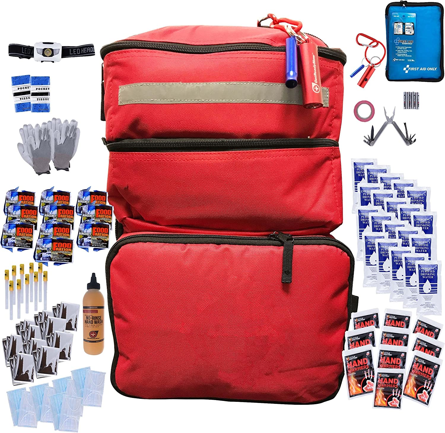 GETREADYNOW Popular popular Corporate or Family Large Pack Heavy Duty Max 55% OFF Water