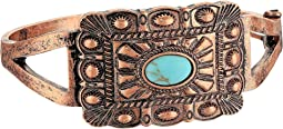 Rectangle Copper Snap Bracelet