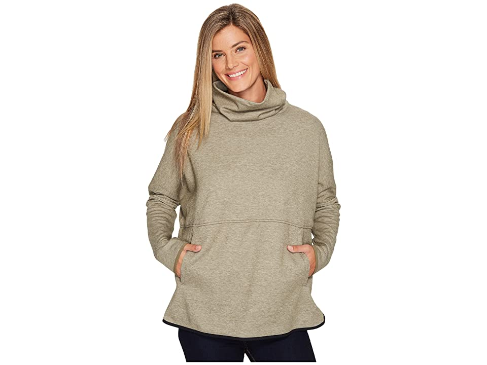 The North Face Slacker Poncho (Brunt Olive Green Heather) Women