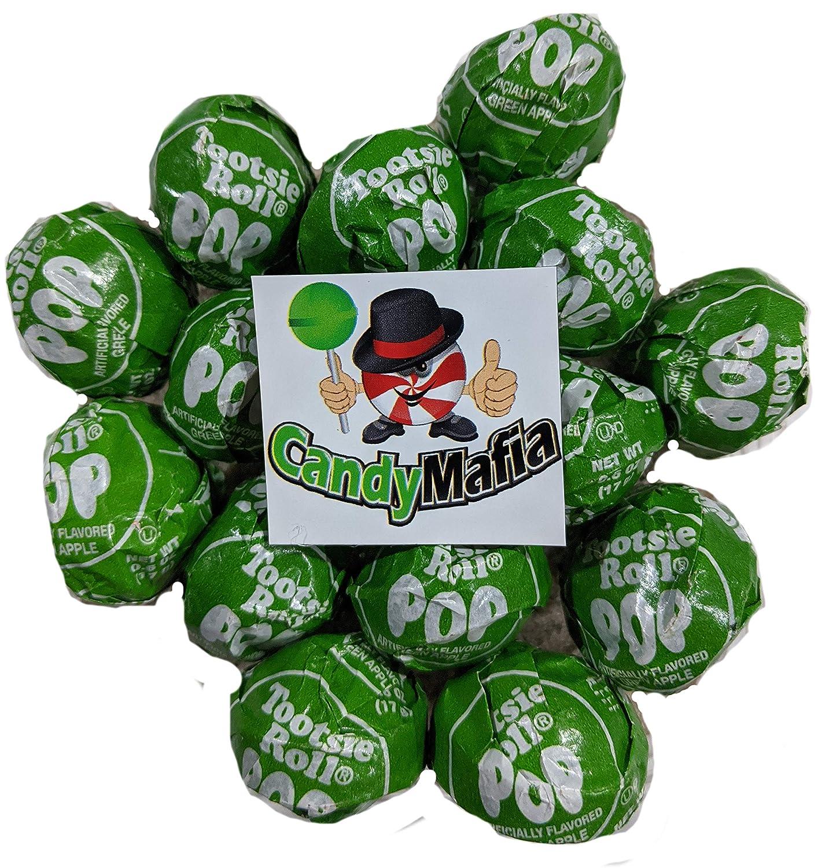 Tootsie Pop Green Apple Tootsie Pops 30 Count + Magnet