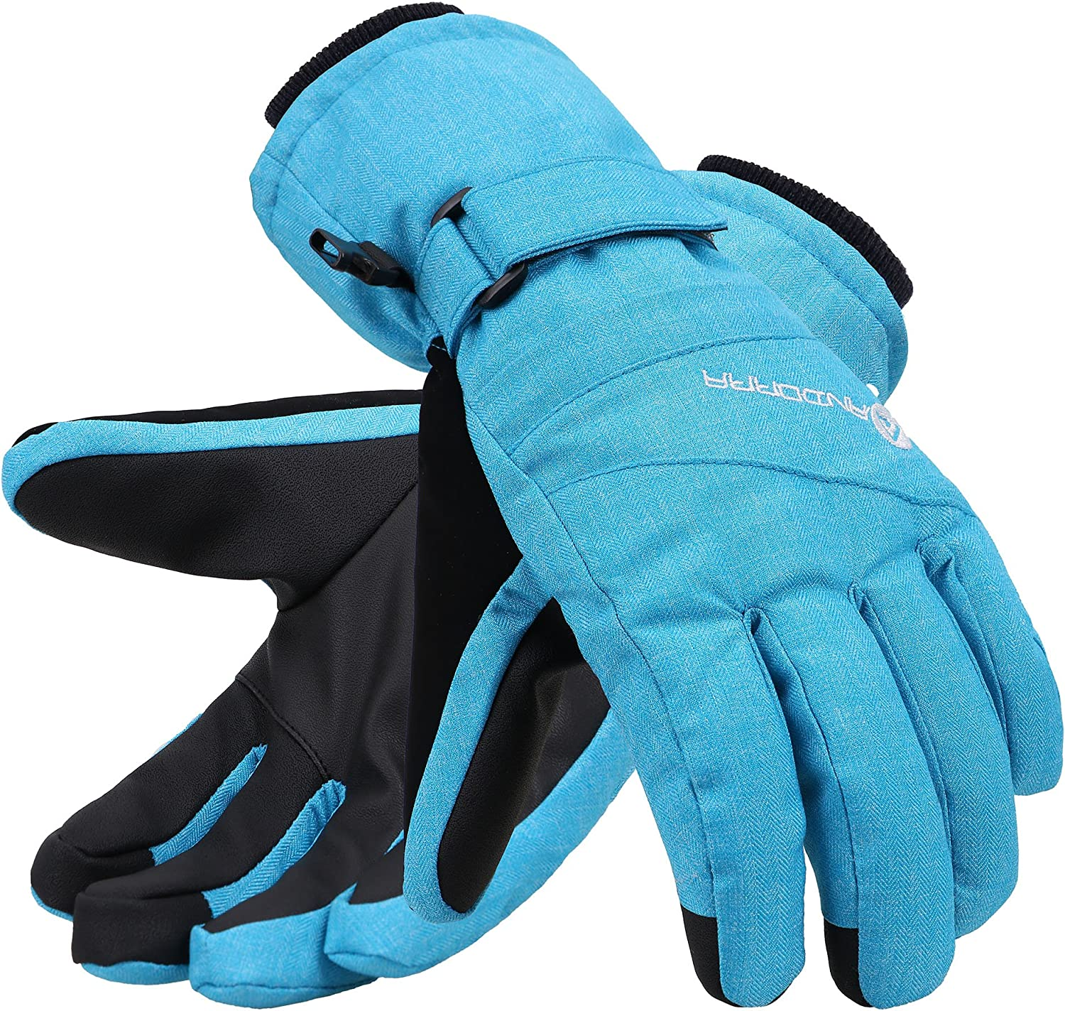 ANDORRA Import Women's Waterproof Selling and selling Touchscreen Ski Gloves