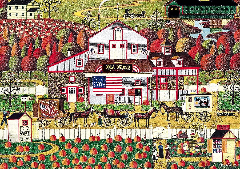 Buffalo Games Charles Wysocki  Autumn Farms  500 Piece Jigsaw Puzzle