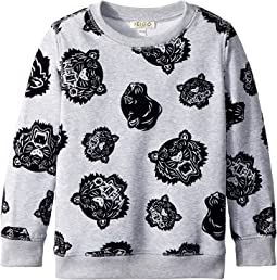 All Over Printed Sweater (Little Kids)