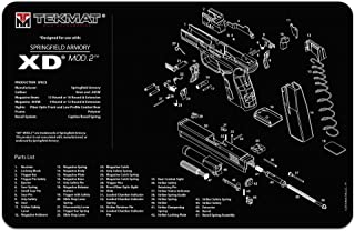 TekMat for use with Springfield Armory XD MOD.2