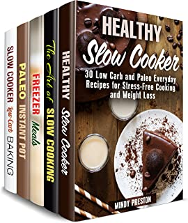 Paleo and Slow Cooker Box Set (5 in 1) : Over 160 Healthy Crockpot Recipes and Comforting Weight Loss Meals (Paleo Slow Cooking)