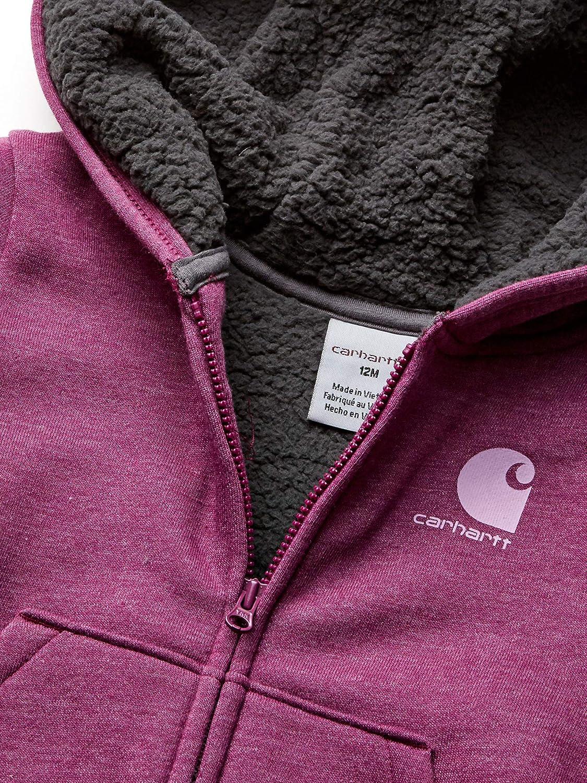 Carhartt girls Cozy Fleece Hooded Jacket