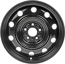 Dorman Black Wheel with Painted Finish (17 x 6.5 inches /5 x 4 inches, 40 mm Offset)