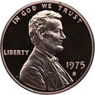 1975 S Gem Proof Lincoln Memorial Cent Penny Proof US Mint
