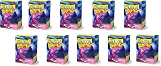 10 Packs Dragon Shield Matte Purple Standard Size 100 ct Card Sleeves Display Case