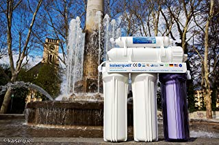 kaiserquell Système de filtration à eau d'osmose inverse de qualité supérieure - Filtre les particules et les microplastiq...