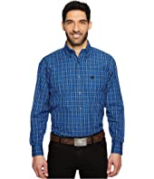 Wrangler - Long Sleeve George Strait Button Plaid
