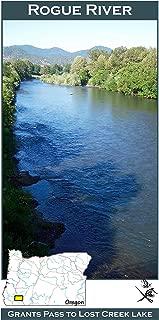 rogue river fishing map