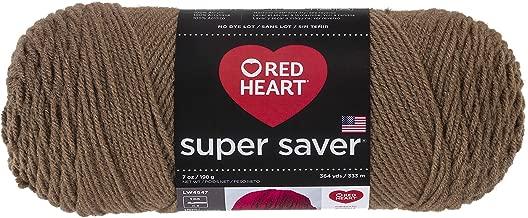 Red HeartSuper Saver Yarn, Cafe Latte
