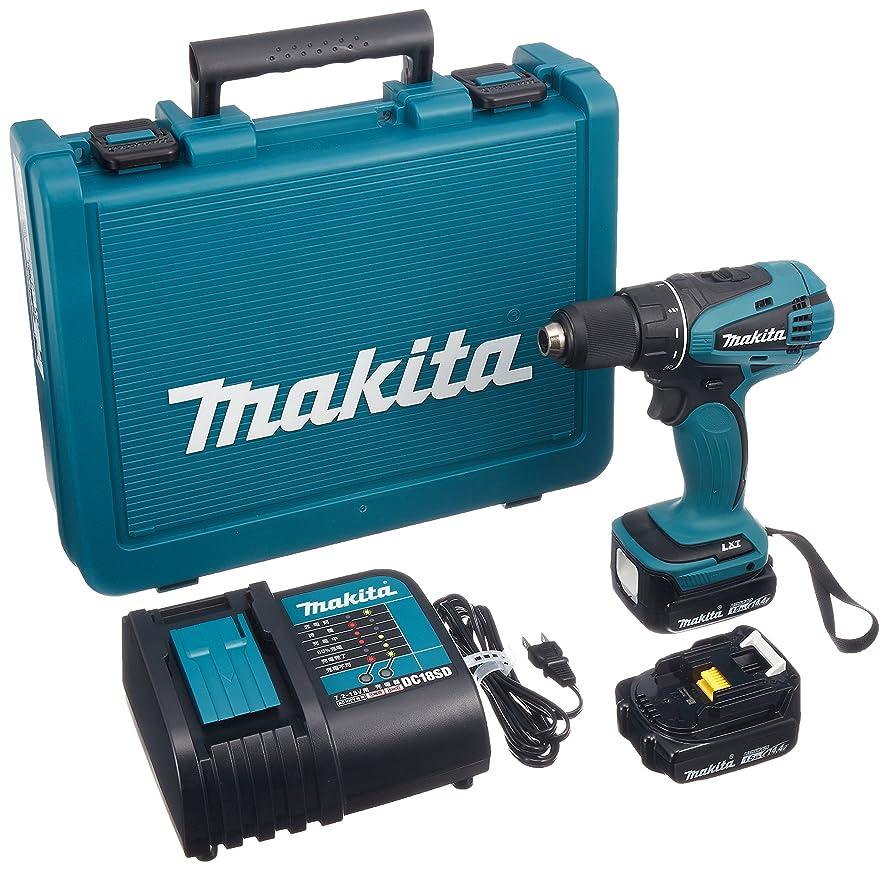 シャックルサーカスだますマキタ(Makita)  充電式ドライバドリル (バッテリー?充電器?ケース付) DF471DSHX