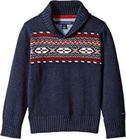 Tommy Hilfiger Kids - Fair Isle Sweater (Toddler/Little Kids)