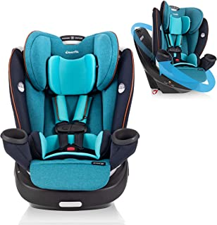 Evenflo Gold Revolve360 Rotational All-in-One Convertible Car Seat, Swivel Car Seat, Rotating Car Seat for All Ages, Swive...