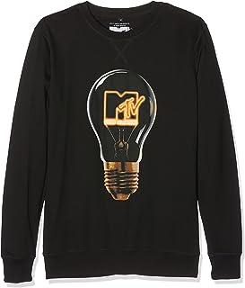 Mister Tee Men's Mtv High Energy Crewneck Sweatshirt