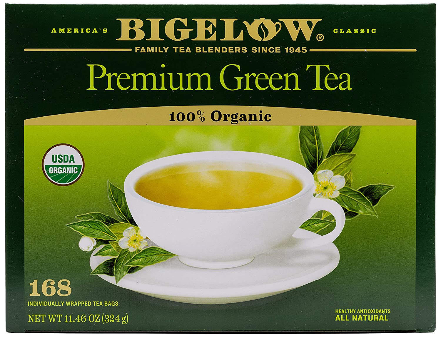BTC00388CT - Free Shipping New Bigelow Classic 2021 autumn and winter new Tea Green