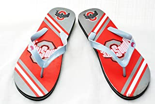 Medium NCAA Louisville Cardinals 2013 Big Logo Flip Flop Red