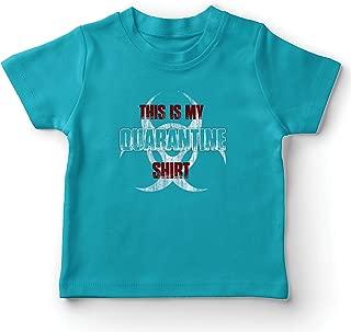 lepni.me Kids T-Shirt This is My Quarantine Shirt 2020 Virus Flu Awareness Outfit