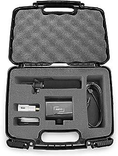 Casematix Hard Shell Camera Case Compatible with Mevo Start Live Streaming Camera, Shotgun Mic and Mevo Start Livestream A...