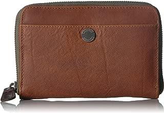 Womens Leather Zip Wallet