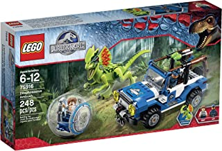 LEGO Jurassic World Dilophosaurus Ambush 75916 Building Kit