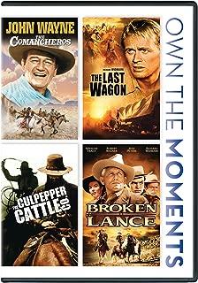 Comancheros, The / The Last Wagon / The Culpepper Cattle Co. / Broken Lance Quadruple Feature