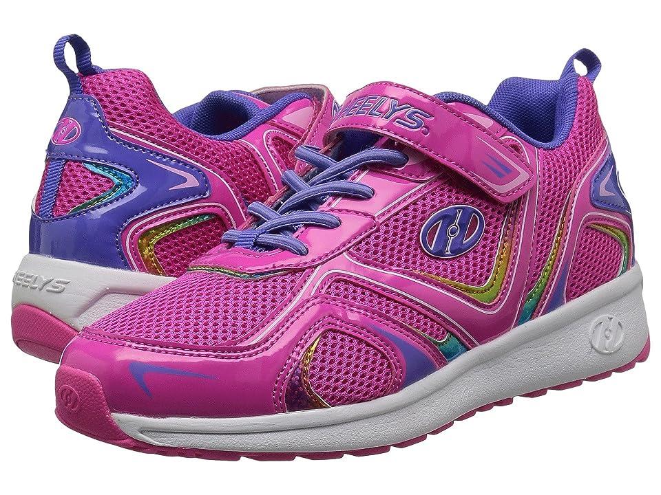 Heelys Rise x2 (Little Kid/Big Kid) (Hot Pink/Lilac/Rainbow) Girls Shoes