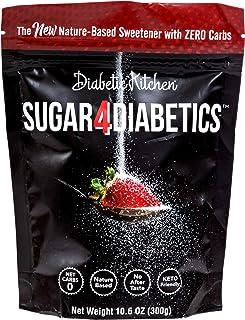 Diabetic Kitchen Sugar4Diabetics Keto Friendly Sweetener - Zero Calorie, Low Carb Sugar Free Sugar Substitute - Natural Al...