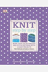 Knit Step by Step (DK Step by Step) Paperback