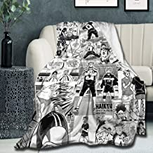 "Super Soft Light Weight Throw Blanket Bokuto Manga Collage 2 Summer Quilt for Bed Couch Sofa 80""X60"" Full Queen for Adult"