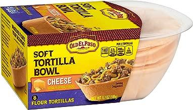 Old El Paso Soft Tortilla Bowl Cheese, 6.7 oz