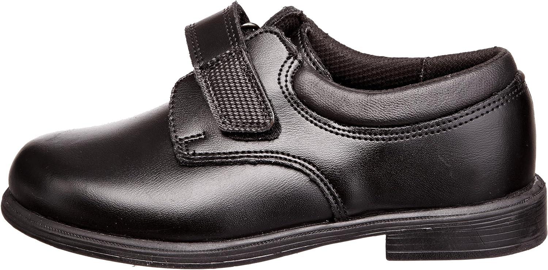 Toughees Boys Class Shoes Black